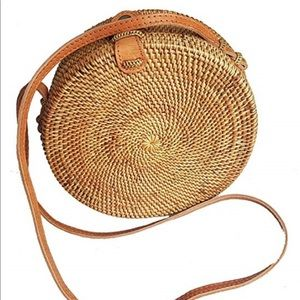 Free People, woven satchel, great condition.